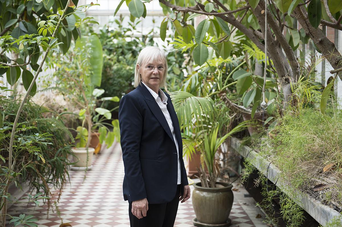 Margaret Buckingham, lauréate de la médaille d'or 2013 du CNRS