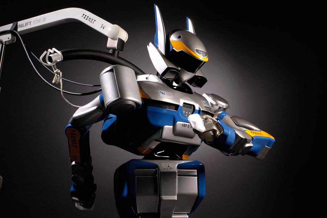 Le robot HRP-2 est capable de planifier ses mouvements de locomotion et de préhension