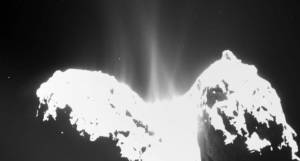 Cou de la comète 67P/Churyumov-Gerasimenko