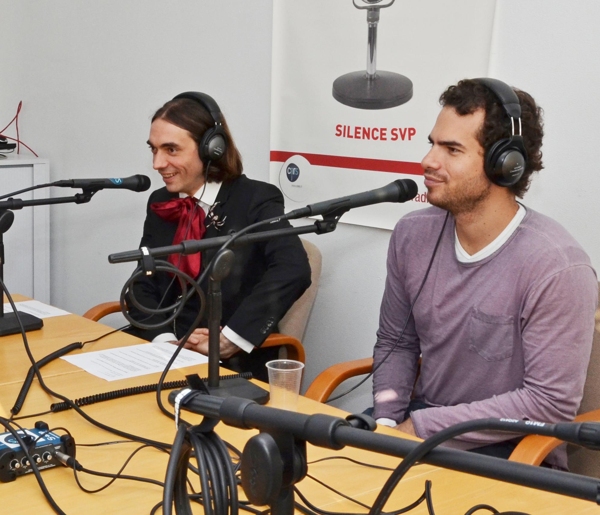 Cédric Villani et Artur Avila