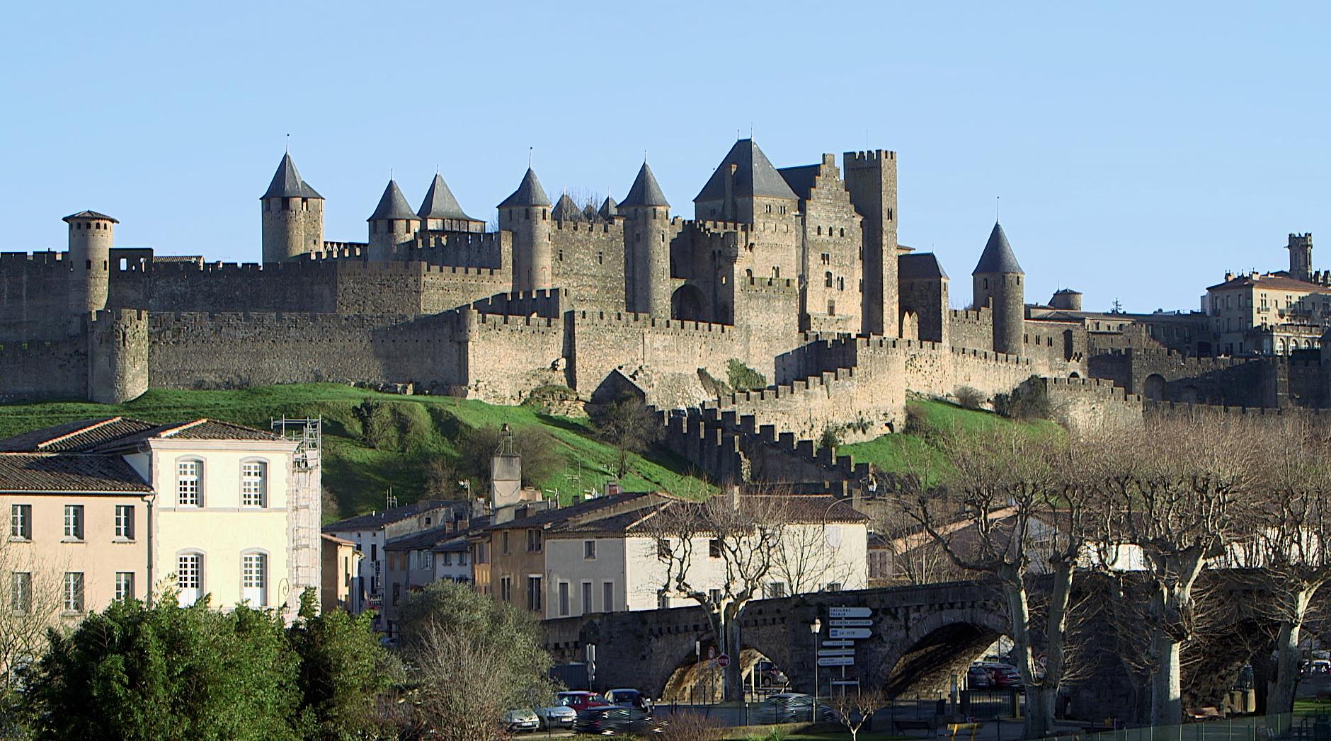 """Visuel du film """"La cité de Carcassonne"""""""