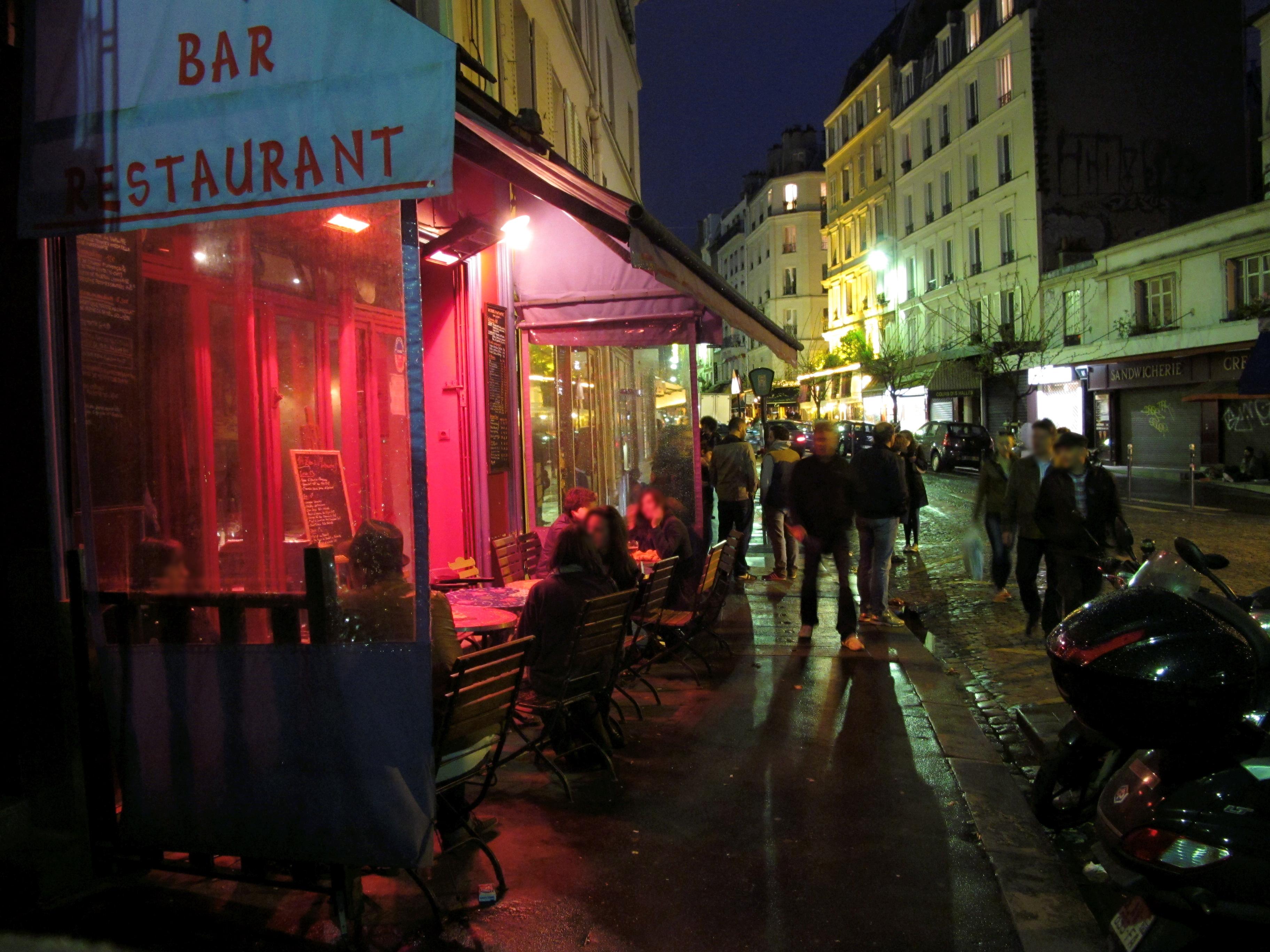 Montmartre la nuit