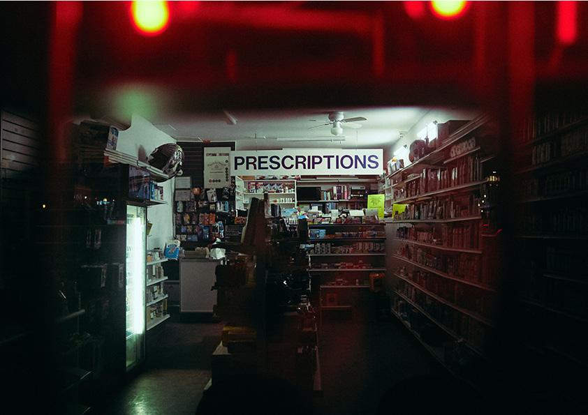 Photo d'une pharmacie