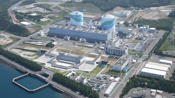 Centrale nucléaire de Sendai dans la préfecture de Kagoshima