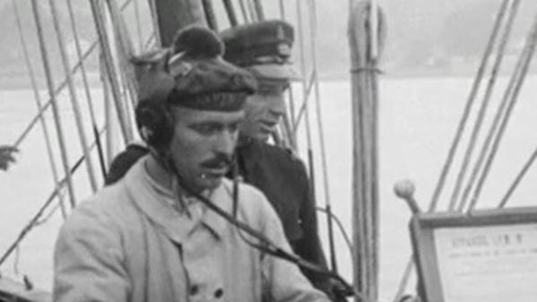 Test en rade de Toulon de l'écouteur sous-marin Perrin  © ONRSI, CNRS Images, Fonds historique