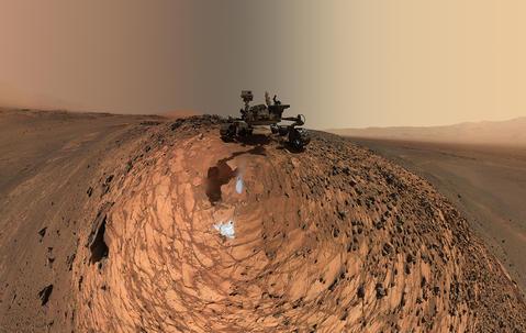 Nasa's Curiosity Mars rover