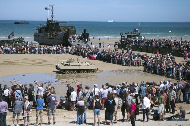 Cérémonies en lhonneure du 70ème anniversaire du Débarquement en Normandie