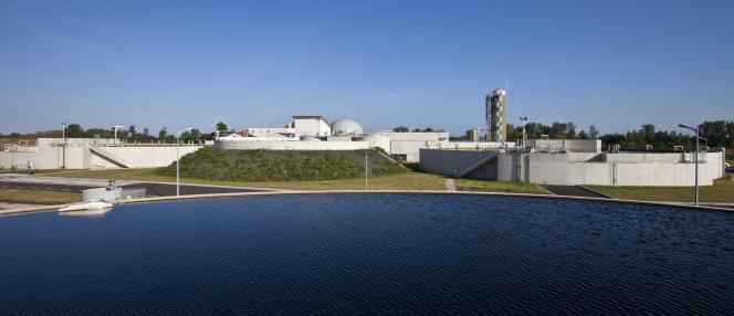 Station de traitement des eaux usées du Bassin de l'Ehn, à Meistratzheim