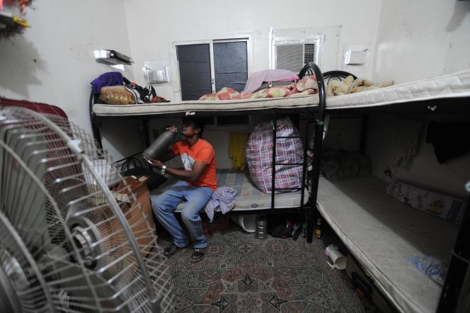 Travailleur népalais au Qatar
