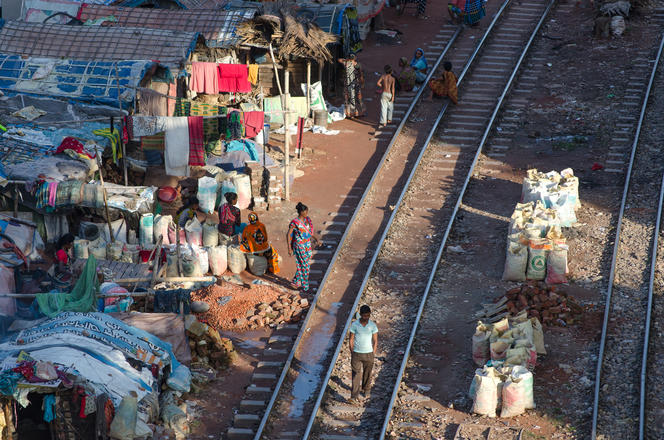 Réfugiés climatiques au Bangladesh.