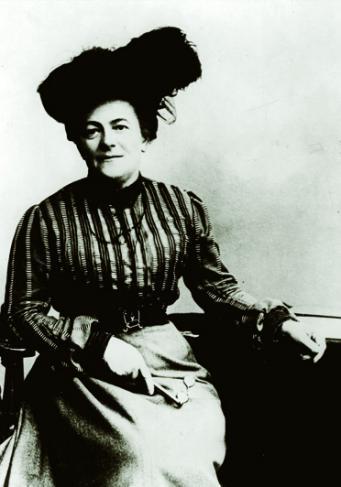Clara Zetkin, enseignante, journaliste et femme politique allemande