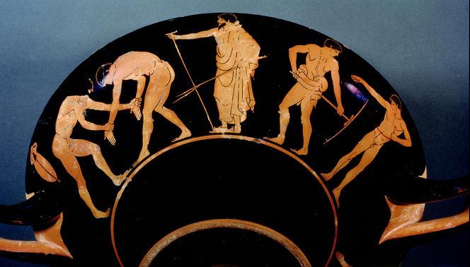 jeux olympiques dans l'Antiquité