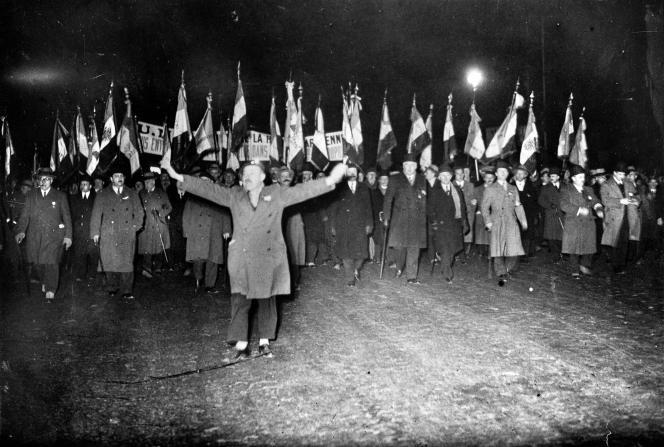 Manifestation du 6 février 1934