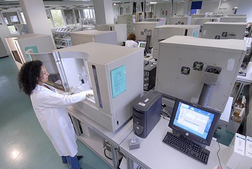 Laboratoire d'analyse du génome humain