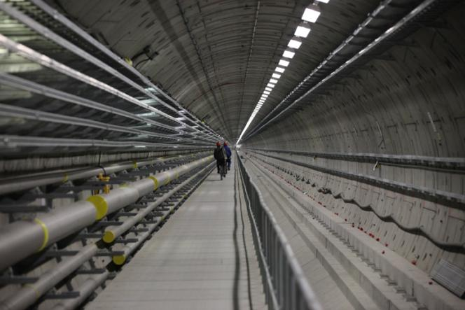 Tunnel du futur laser European XFEL