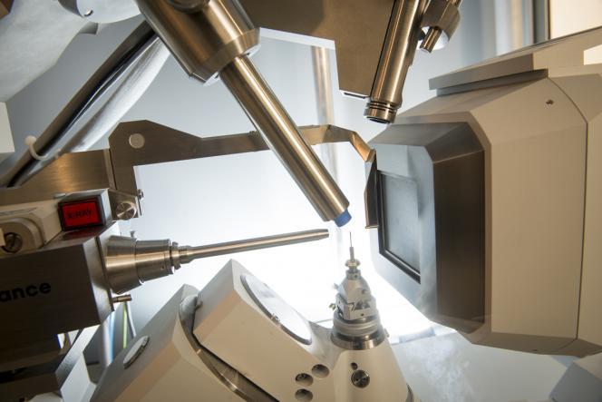 Diffractomètre de rayons X