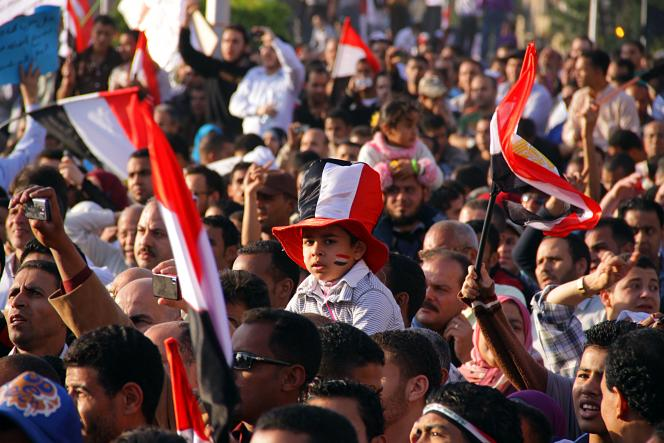 Printemps arabe, manifestations en Égypte