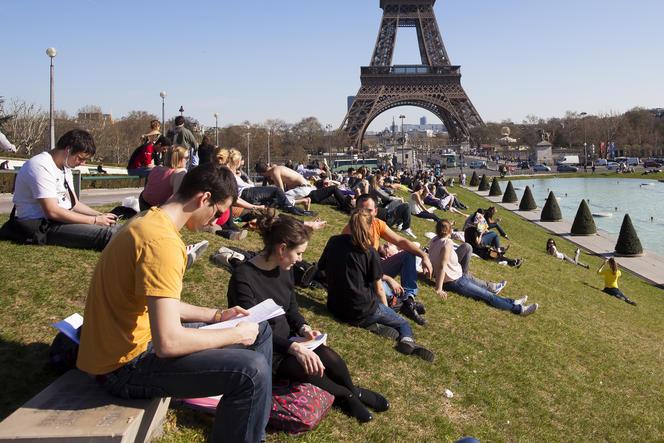 Tour Eiffel, Trocadéro