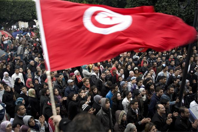Printemps arabe, manifestations en Tunisie