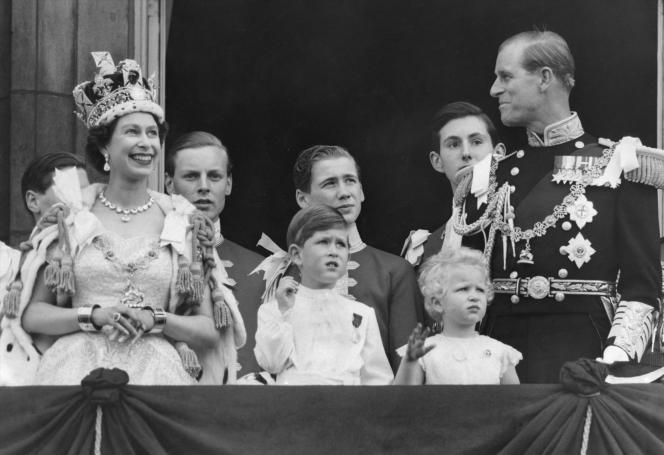 Couronnement de la reine Elisabeth II.