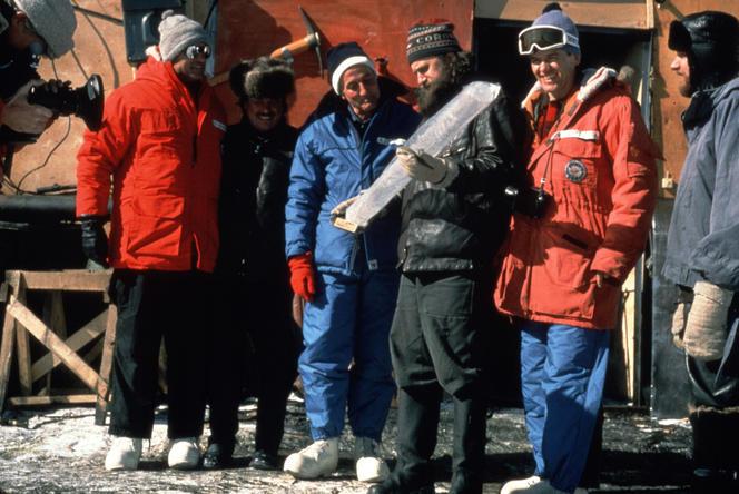 Claude Lorius à Vostok