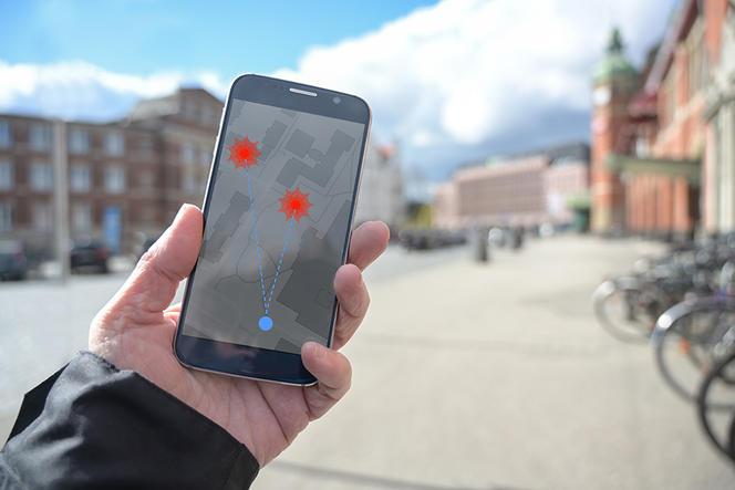 Une application de traçage sur téléphone