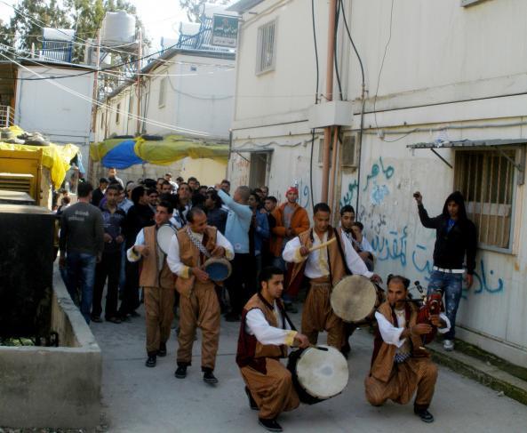 Camp de Narh-el-Bared au Liban