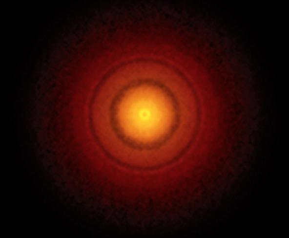ALMA, disque protoplanétaire