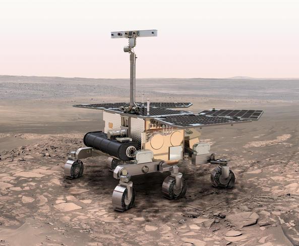 Rover Exomars 2018