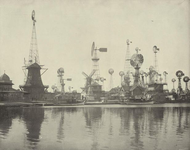Moulins à vent, Exposition Universelle de Chicago, 1893.