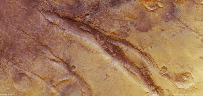 Fleuve martien, le Nili Fossae