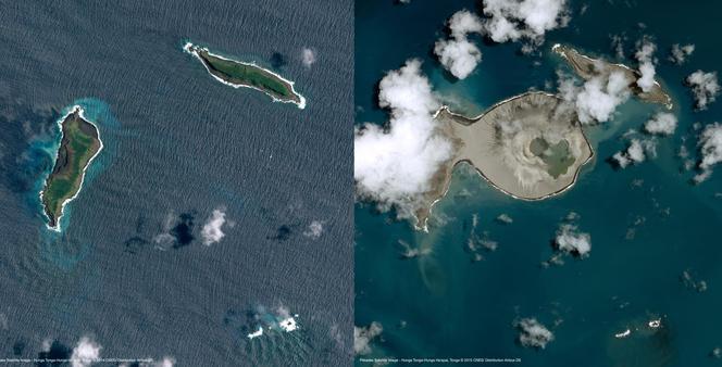 Nouvelle île dans l'archipel des Tonga