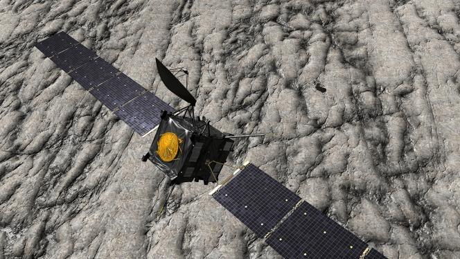 La sonde Rosetta en approche de la comète Churyumov-Gerasimenko