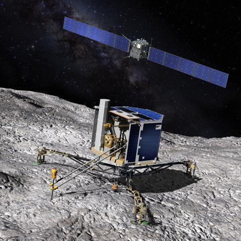 Atterrisseur Philae sur la comète Churyumov-Gerasimenko