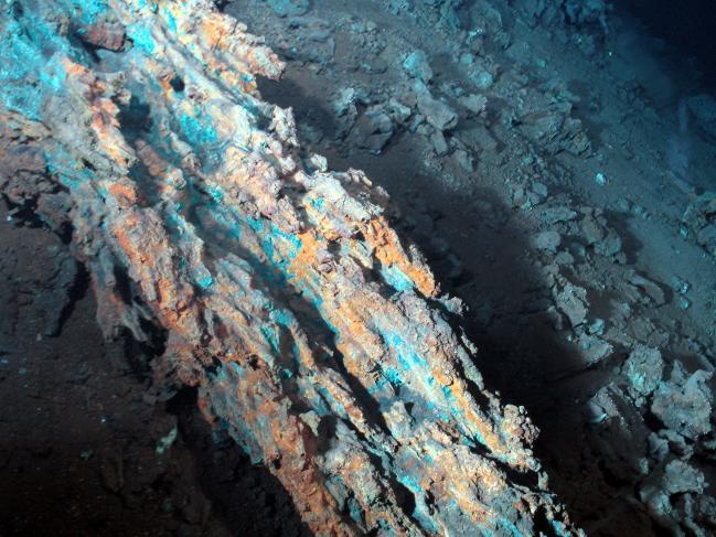 Morceau de sulfures