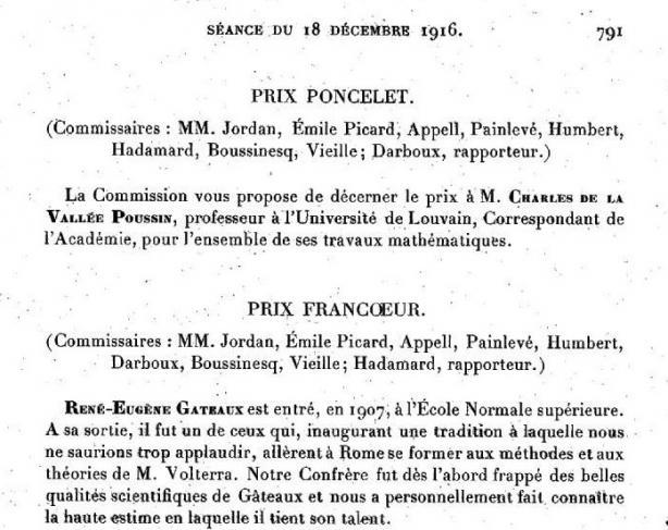 Le prix Francoeur décerné à titre posthume à René Gateaux