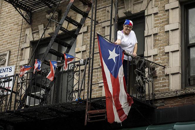 Le plus important couloir migratoire dans le monde est celui qui va du Mexique aux États-Unis, avec 12 millions d'immigrés présents sur le sol états-unien. Les États-Unis accueillent également des diasporas considérables de Chinois, Philippins, Indiens ou Portoricains (photo).   EDU BAYER/The New York Times-REDUX-REA