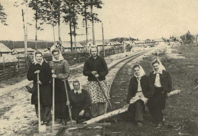 Goulag, brigade de travail en Sibérie