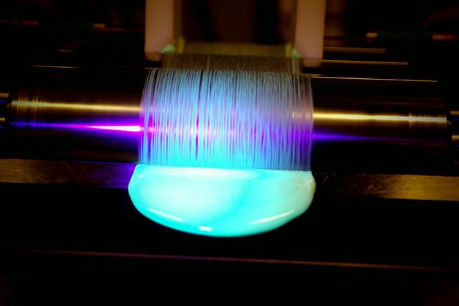 Peinture photoluminescente. Source OLIKROM