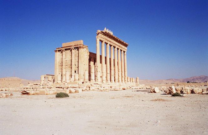 Le Temple de Bel, dans l'ancienne cité romaine de Palmyre