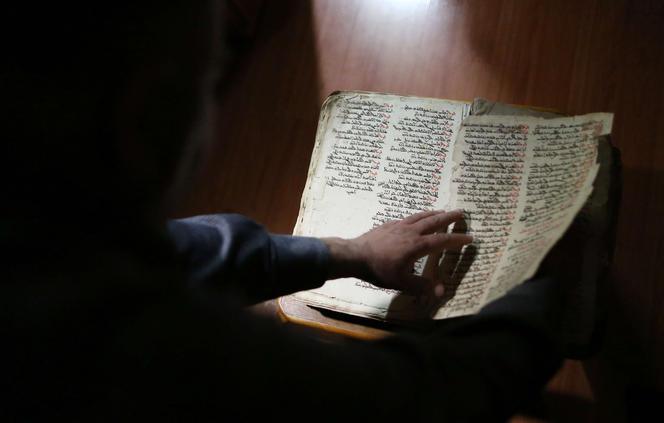 Moyen Orient patrimoine, manuscrits en langue syriaque