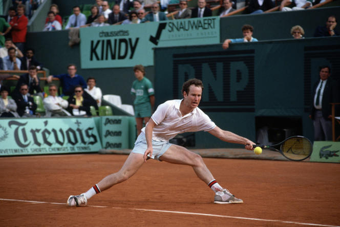 Tennisman gaucher