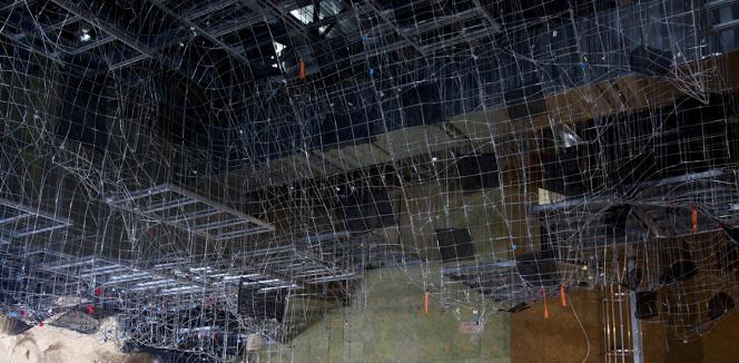Modélisation en 3D du plafond de la grotte Chauvet