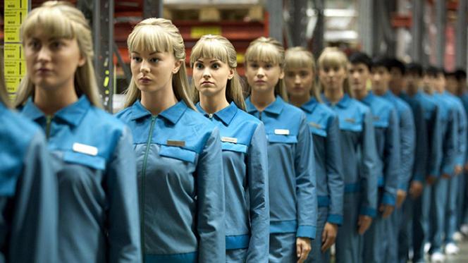 Les robots de la série télé « Real Humans »