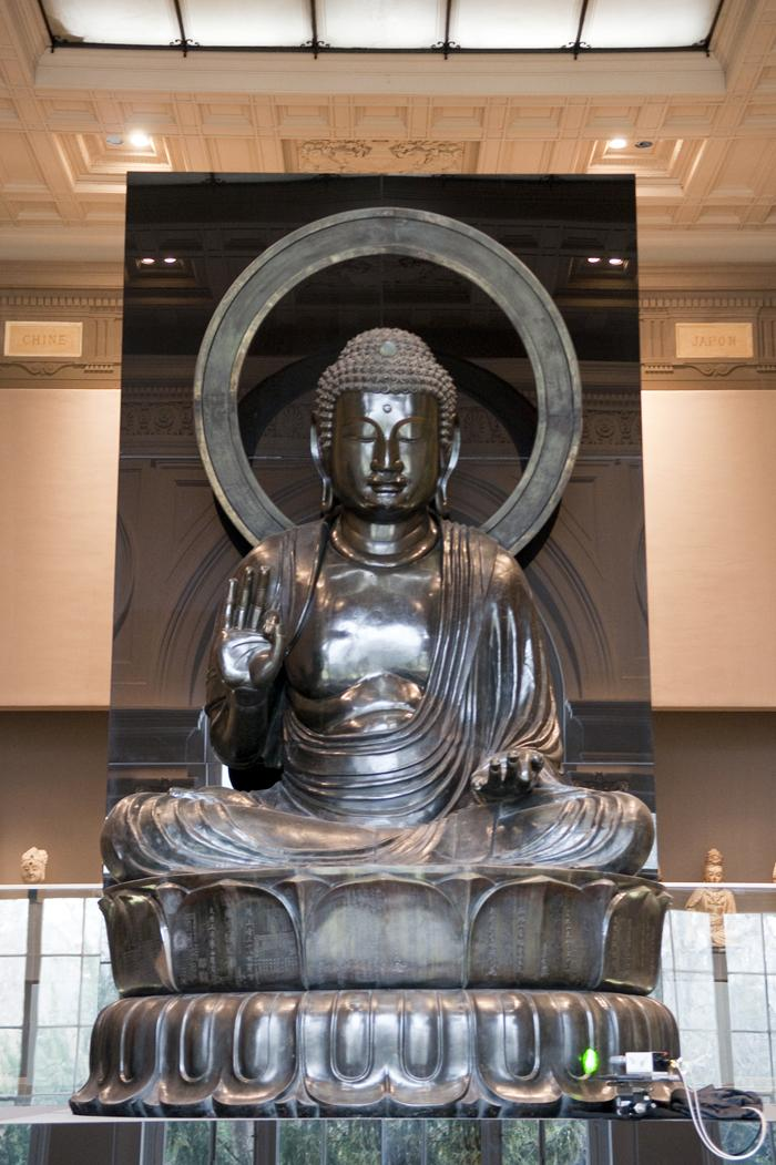 Grand Bouddha Amida, musée Cernuschi