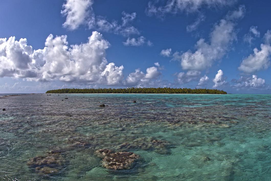 Une île de Polynésie française