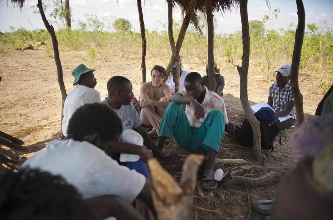 Fermiers du village de Magoli