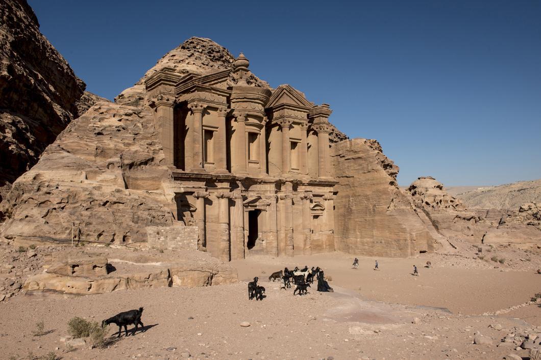 Le « monastère » al-Dayr à Pétra