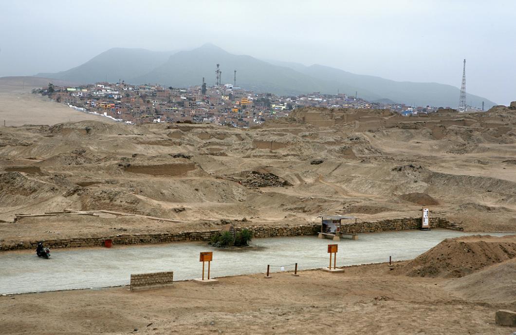Site de Pachacamac, au Pérou