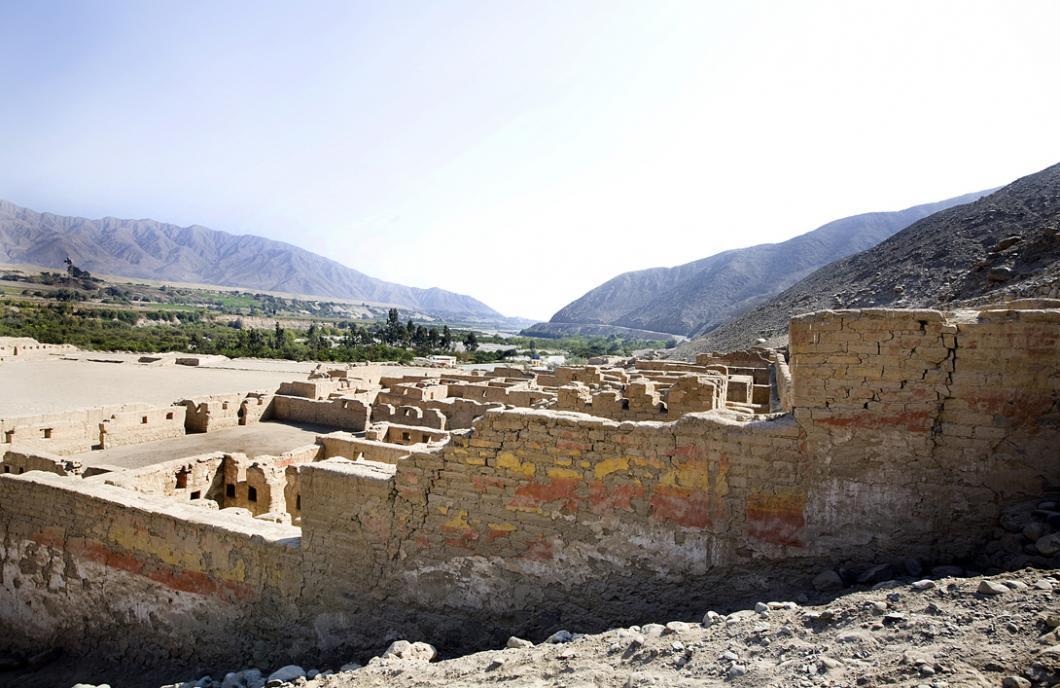 Site de Tambo Colorado, au Pérou